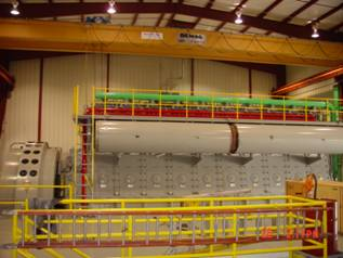 Inside of electric plant