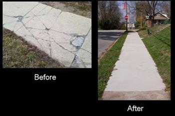 Sidewalk Comparison